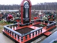 Основные виды памятников на кладбище