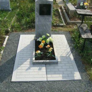 Памятник на могилу из гранита Г-4