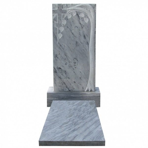 Памятник на могилу из мрамора М-3