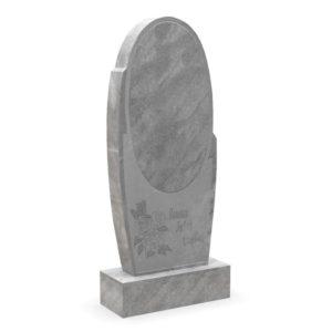 Памятник на могилу из мрамора М-6