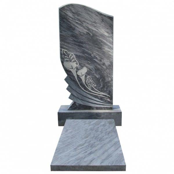 Памятник на могилу из мрамора М-9